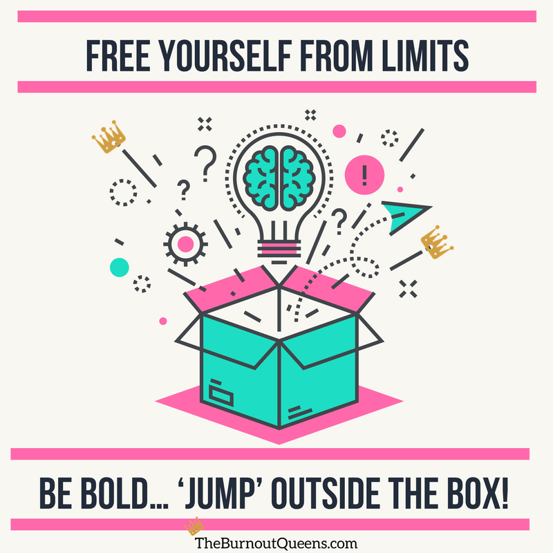 Jump outside the box
